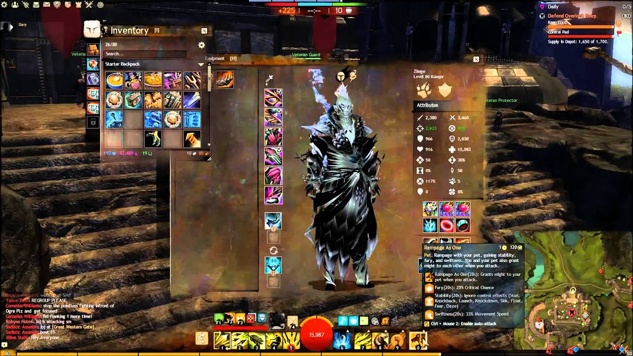 Guild Wars  Pvp Long Bow Build