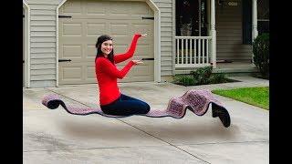 Secret Revealed! How to Levitate on a Magic Carpet!