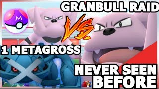 1 METAGROSS BEATS 2 GRANBULL RAIDS IN POKEMON GO MISSION COMPLETED