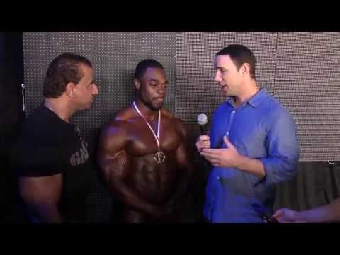 Brandon Curry After Winning the 2013 Arnold Classic Brasil