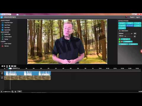 Video Motion Pro Green Screen