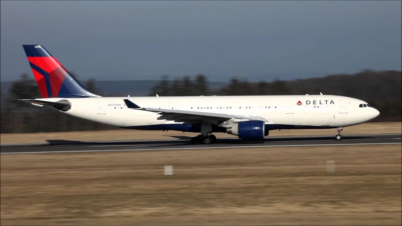 Delta Airlines Airbus A330 200 Departure Full Hd Hq