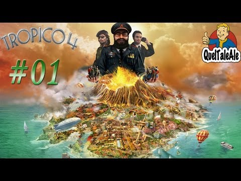 Tropico 4 - # 01 El Presidente - Streaming Twitch (QuelTaleAleTV) 15/04/2014
