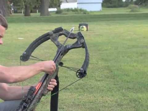 Magnus Broadhead test at 350 feet per second!