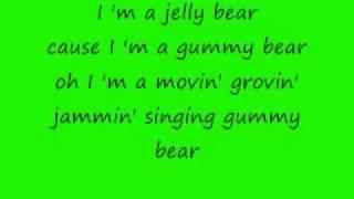download lagu The Gummy Bear Song gratis