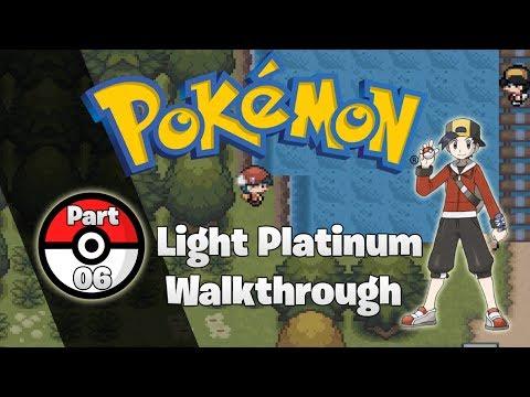 Pokemon Light Platinum Walkthrough Part 6: Kenta Let's Battle!