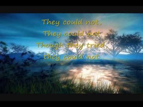 Eileen Birnbaum-bates Singing Sandi Patti They Could Not, With Lyrics video