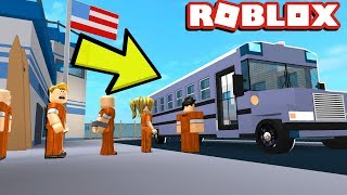 BEING SENT TO A NEW PRISON! | Jailbreak Roleplay