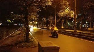 CSGT dẫn đoàn VIP Quốc hội về nhà khách 165 chuẩn bị cho lễ tang - Convoy at midnight