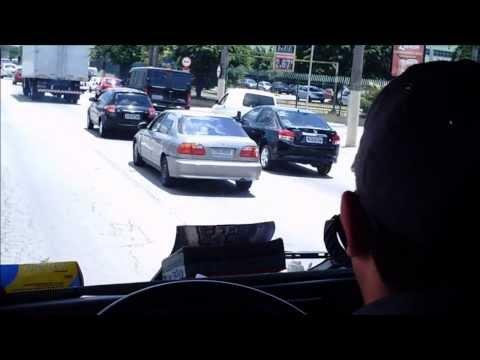 Deslocamento Ab Tático Casa Verde-bombeiros De São Paulo [ride Along] São Paulo Fire Dept. video