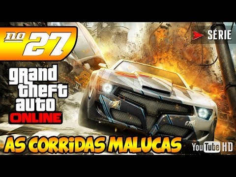 Caça ao SAM / GTA 5 Online As Corridas Malucas Série #27 [PT-BR]
