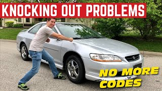 NO More Check Engine Light! FIXING The Mechanical Issues On My 2000 Honda Accord EX Coupe