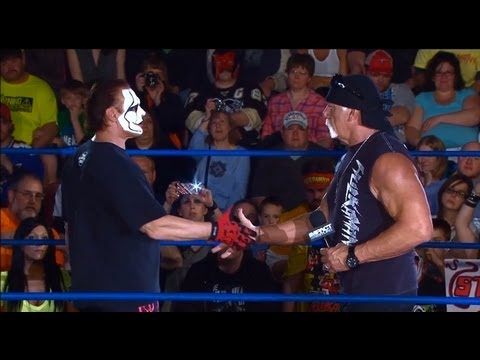 Sting and Hulk Hogan are United to fight Aces and Eights - May 2, 2013