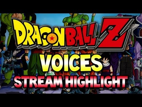 Dragon Ball Z Voices! (Stream Highlight)