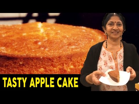 How to make cake at home in telugu | Apple recipes indian | Tasty cake recipes at home | Quickcake