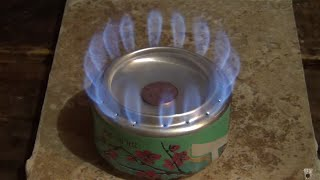 How to make an Arizona penny can alcohol stove