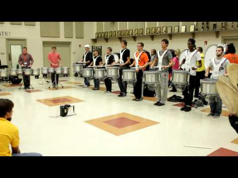 OSU Drumline - Accent tapdouble beatsparadiddle Exercise