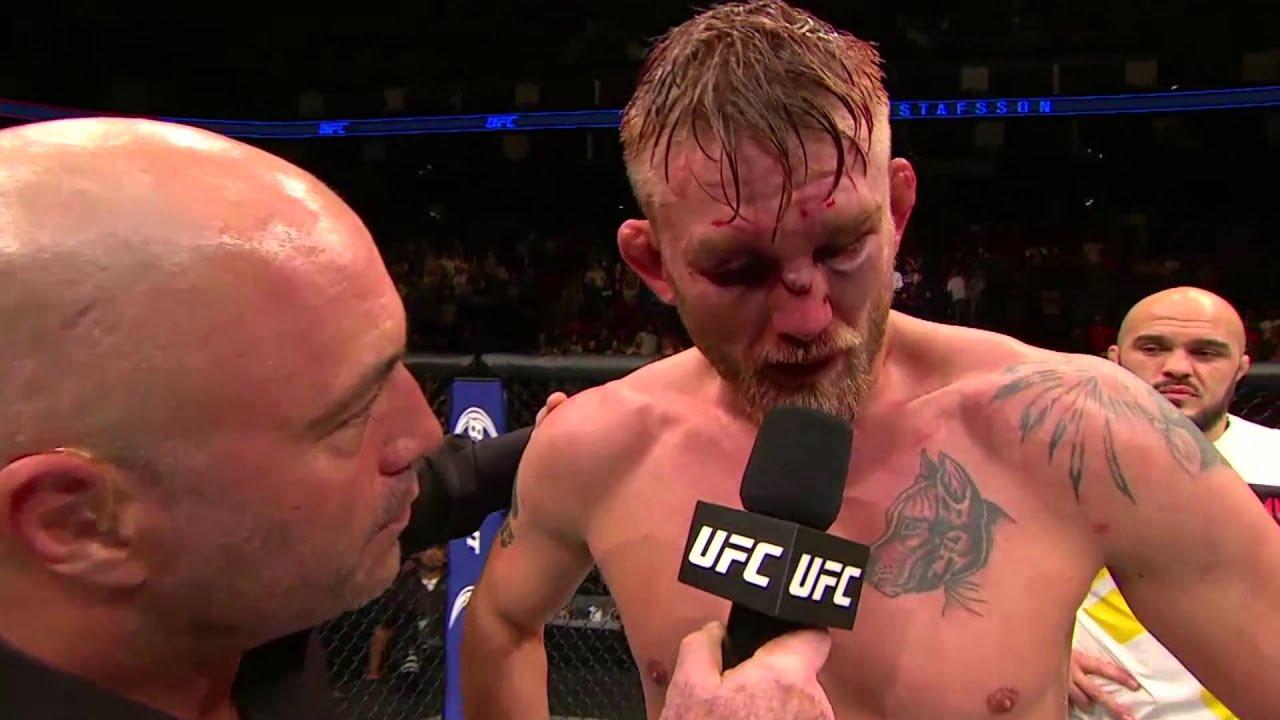 UFC 192: Alexander Gustafsson Octagon Interview