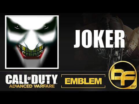 Warfare Joker Joker Advanced Warfare Emblem