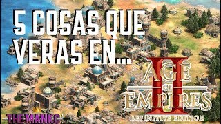 5 Cosas que verás en Age of Empires 2 Definitive Edition