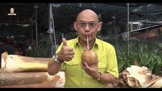 Dừa dứa nướng Ba Đốt thơm ngon nhức nhối thực hiện kỳ công vô cùng, 1 sản phẩm tự hào của Bến Tre