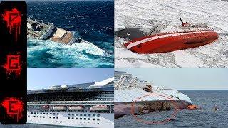 Terribles accidentes de cruceros