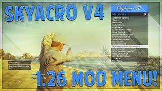 "GTA 5 Online | ""SkyAcro v4"" BEST 1.26 Mod Menu RGH/JTAG Showcase! (GTA V 1.26 Mod Menu Gameplay)"