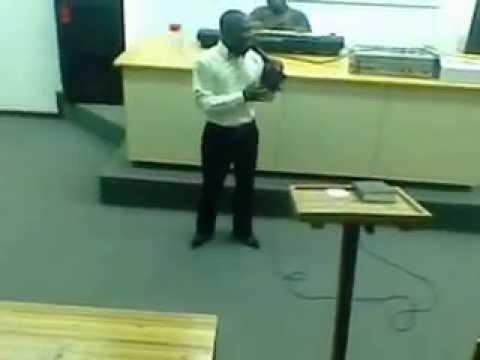 Bro. Mbiko @ Fort Cox College