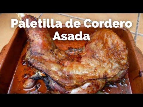 PALETILLA DE CORDERO ASADA ( RECETA FÁCIL )