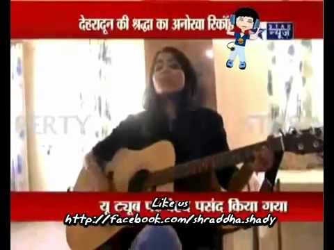 Shraddha Sharma- In Star News interview (shraddharockin)