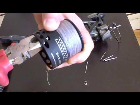 Рыболовная катушка своими руками