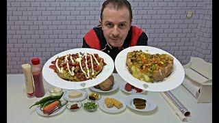 Baked Potato Turkish Street Food Kumpir Recipe