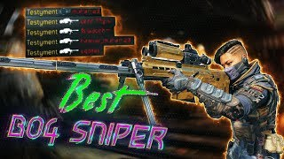 this is THE BEST SNIPER RIFLE in BO4