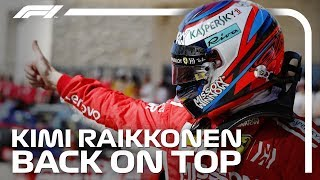 Kimi Raikkonen Back On Top | 2018 United States Grand Prix