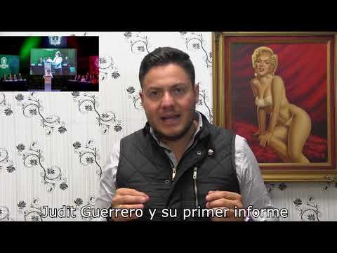 Judit Guerrero y su primer informe
