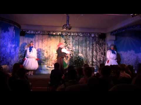 Новогодний концерт Деда Мороза или баба-яга против ч.1