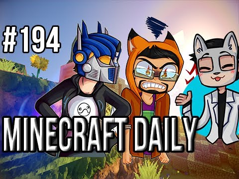 Minecraft Daily | Ep.194 | Ft. ImmortalHd and Steven | Steven goes Latino on me!