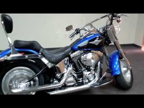 Used 2004 Harley Davidson Fatboy Motorcycles For Sale in  Indiana Illinois