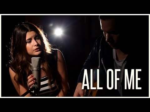 John Legend - All of Me (Acoustic Cover by Savannah Outen) - Official Music Video