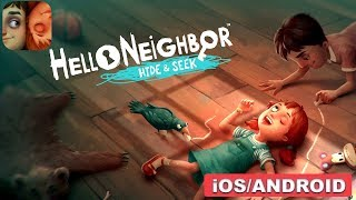 HELLO NEIGHBOR HIDE AND SEEK - ANDROID / IOS GAMEPLAY