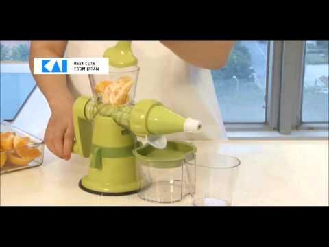 KAI   FRUITS & VEGETABLE SLOW JUICER   DA 5062 BY HEAP SENG GROUP