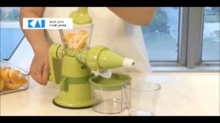 KAI - FRUITS & VEGETABLE SLOW JUICER (DA-5062) BY HEAP SENG GROUP