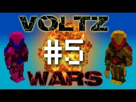 Minecraft Voltz Wars - Guns in the Nether! #5