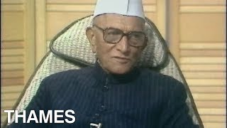 Morarji Desai interview | Prime Minister of India | India |1977