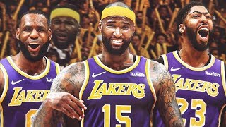 Lakers Sign DeMarcus Cousins, Rajon Rondo! 2019 NBA Free Agency