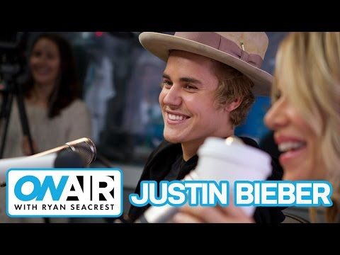 Justin Bieber Talks New Hairstyle | On Air with Ryan Seacrest
