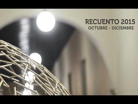 Video Recuento Octubre - Diciembre 2015