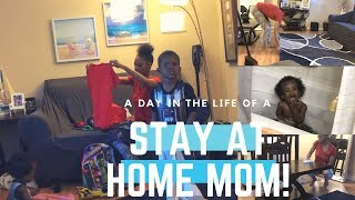 A REAL DAY IN THE LIFE OF A STAY AT HOME MOM FEATURING TODDLERS + CLEAN WITH ME!