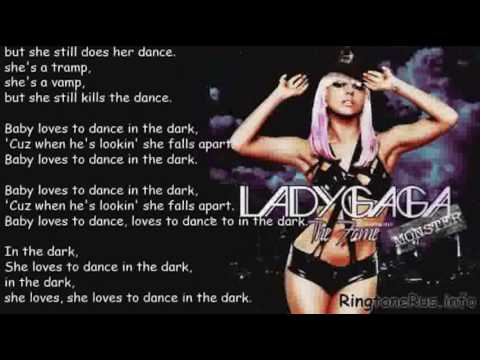 NEW Lady Gaga - Dance In The Dark + [LYRICS]