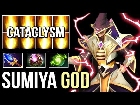IMMORTAL SumiYa Best Invoker Epic Cataclysm Combo Insane Gameplay 7.07 Dota 2